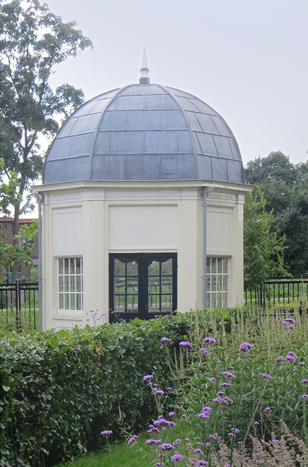 The Driemond Tea pavilion at Schoonoord in 2020.<p>.