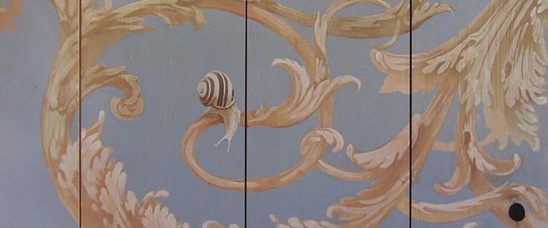 Garden Snails Cepaea Hortensis