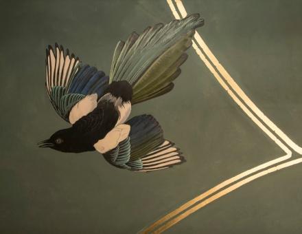 ABE Club & Lounge - Magpies - Peter Korver  Amsterdam 2013