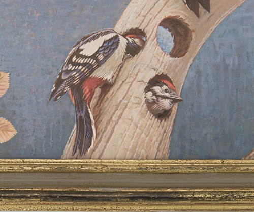 ""\""""Le Trompe l'Oeil"""" - (detail)  <p> a new painted ceiling in the original restored frame high above the stairwell""500|417|?|en|2|016d96830aa12f6509fe18847b5b2d1c|False|UNLIKELY|0.28418979048728943