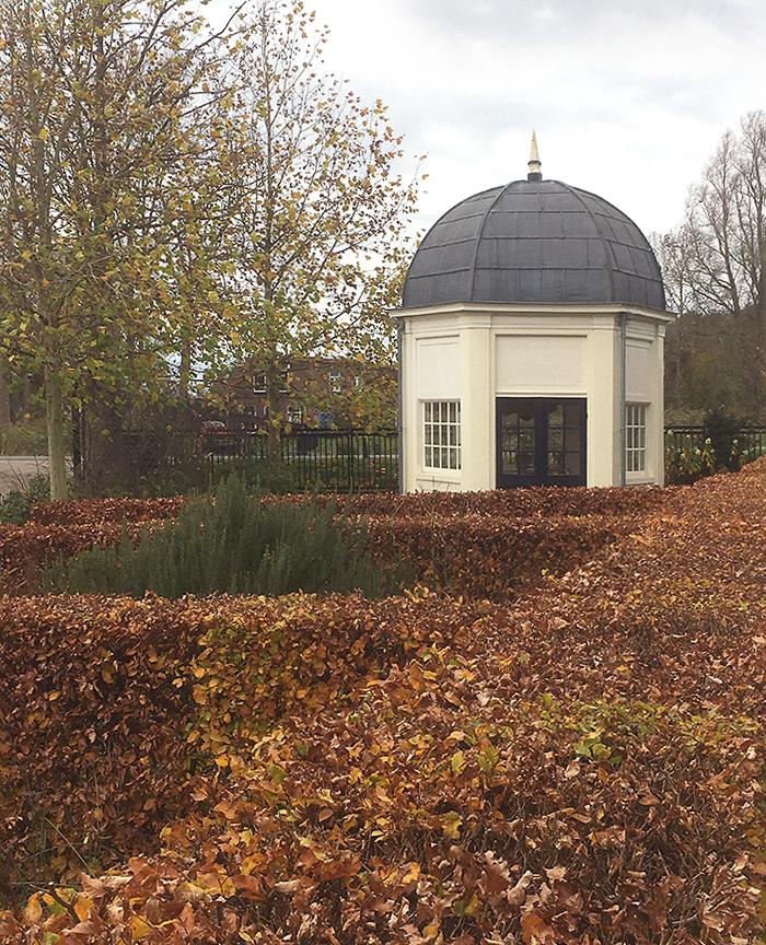 The Driemond Tea pavilion at Schoonoord in 2020.<p> Photo; Korver - Nov. 2020<p>.